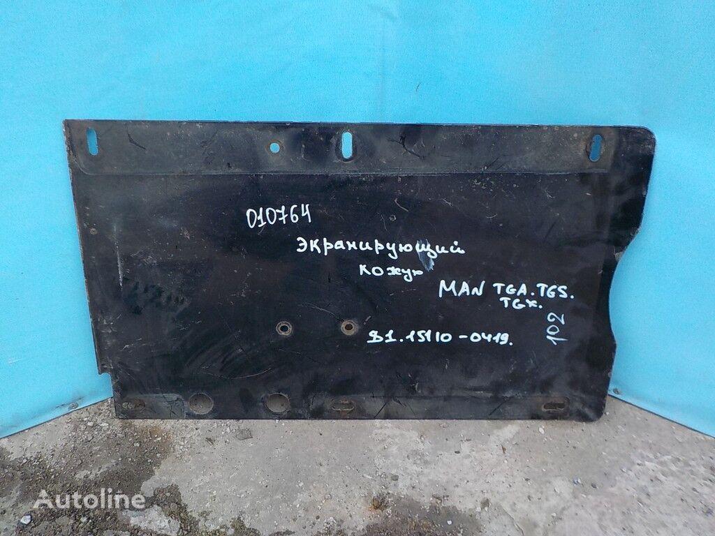 Ekraniruyushchiy kozhuh glushitelya spare parts for MAN truck