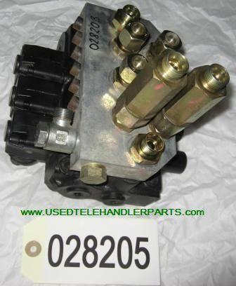 Merlo Hydraulický rozvaděč spare parts for MERLO wheel loader
