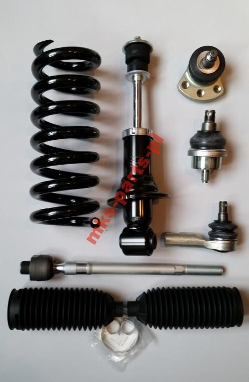 new - COILS SUSPENSION SPRING - SPRĘŻYNA ZAWIESZENIA spare parts for MITSUBISHI CANTER FUSO 2012 - truck