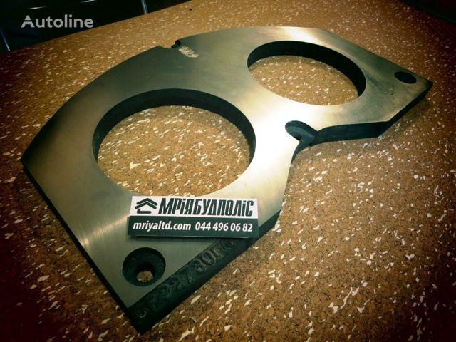 Italiya iznashivaemaya spectacle wear plate for CIFA concrete pump