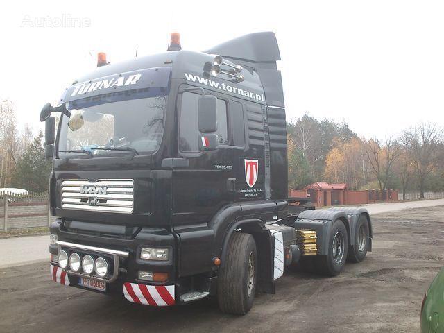 new MULTI-PLAST MAN TGA-TGS LX spoiler for tractor unit