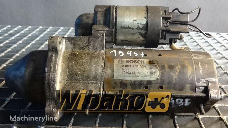 Starter Bosch 0001231026 starter for 0001231026 other construction equipment