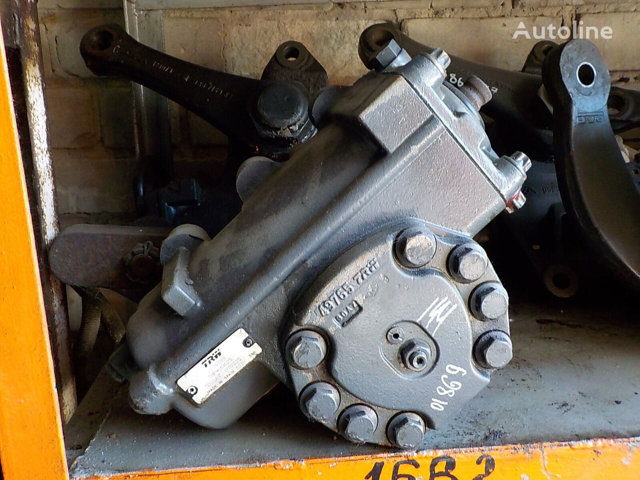 steering gear for DAF truck