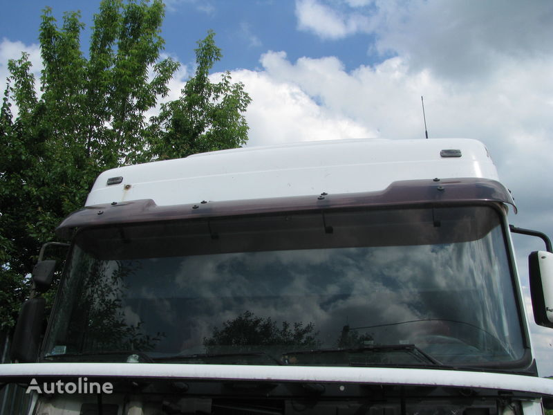 sun visor for DAF tractor unit