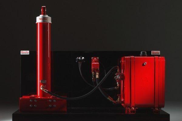 Binotto tipper system for Binotto