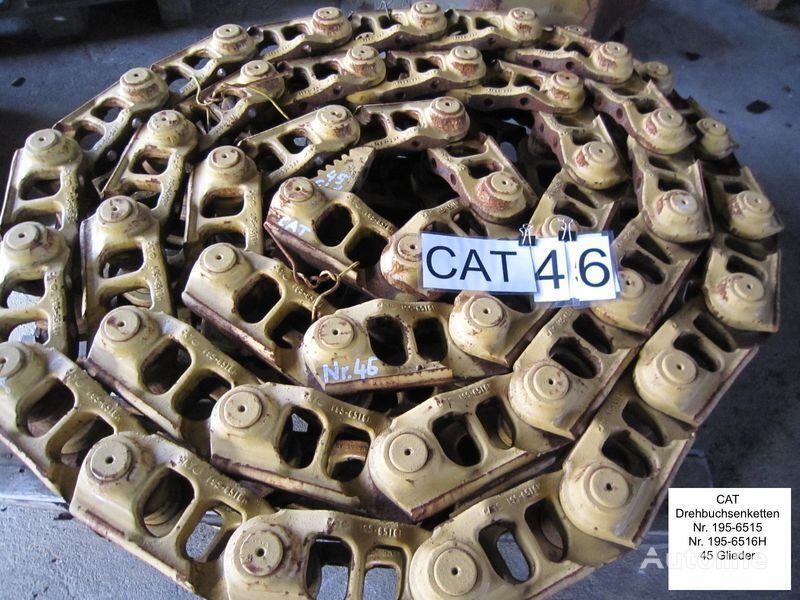 Kette /( Drehbuchsen) und Bodenplatten track chain for CATERPILLAR D6 bulldozer