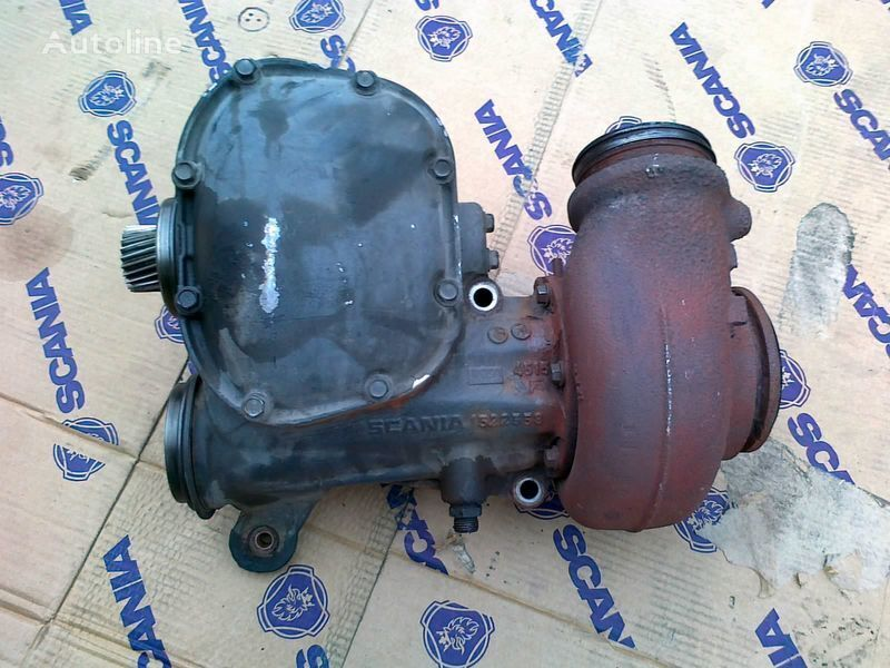 SCANIA TURBO COMPOUND turbocharger for SCANIA R 420 Euro 4 tractor unit
