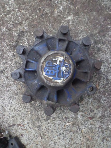 BPW wheel hub for semi-trailer
