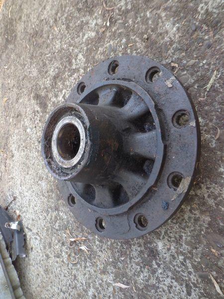 BPW wheel hub for semi-trailer