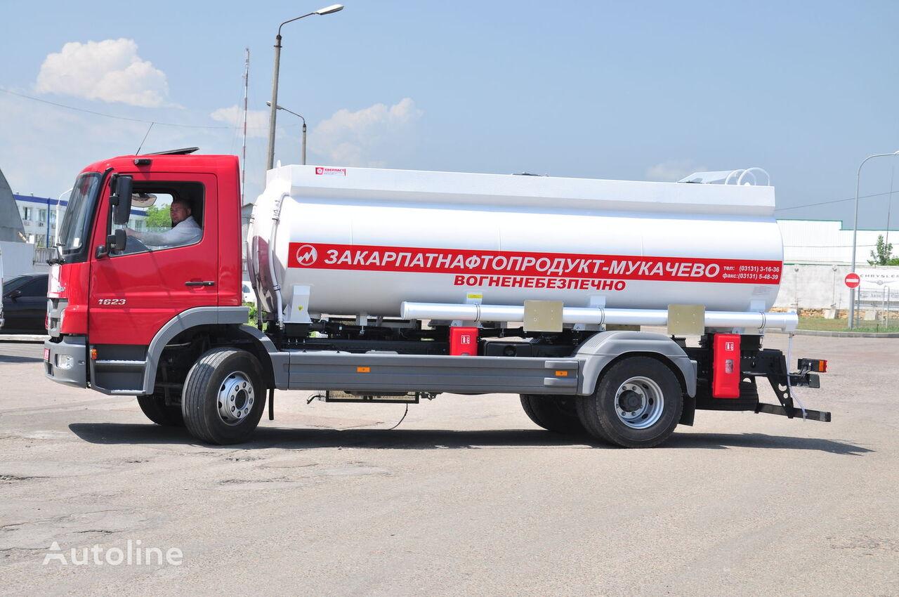 new EVERLAST AC 15 tank trailer