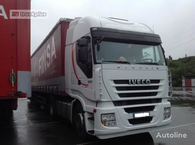 IVECO STRALIS AS 440S50 TP tractor unit