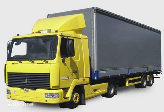 new MAZ 447131 tractor unit