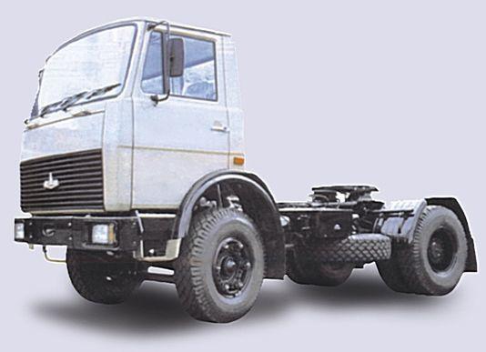 new MAZ 5433 tractor unit