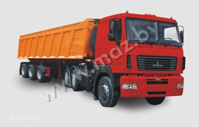new MAZ 6430 A8 tractor unit