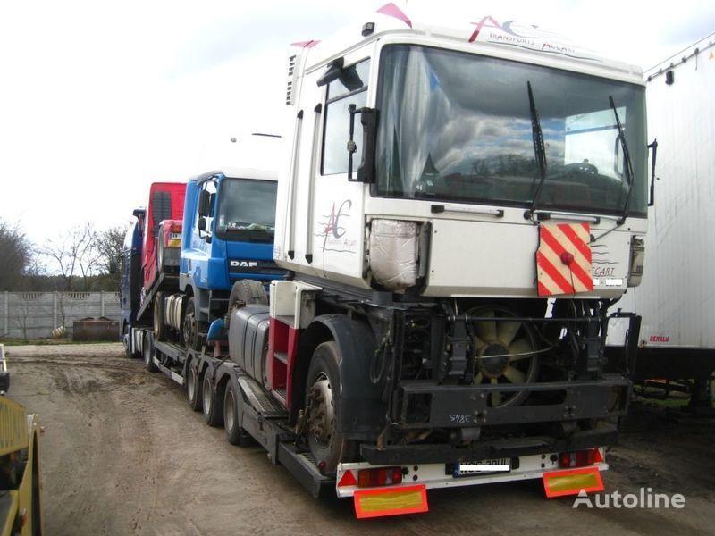 damaged RENAULT MAGNUM 440 DXI SPROWADZONA Z FRANCJI tractor unit