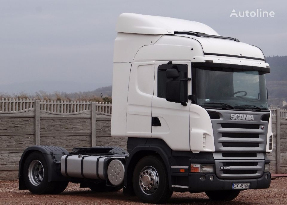 SCANIA R 420 / HIGHLINE / / OPTICRUISE + SPRZĘGŁO / tractor unit