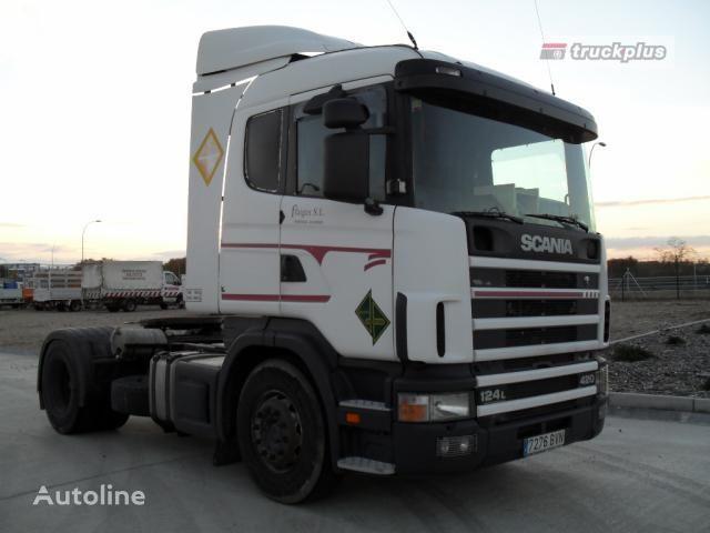 SCANIA R124 LA 420 tractor unit