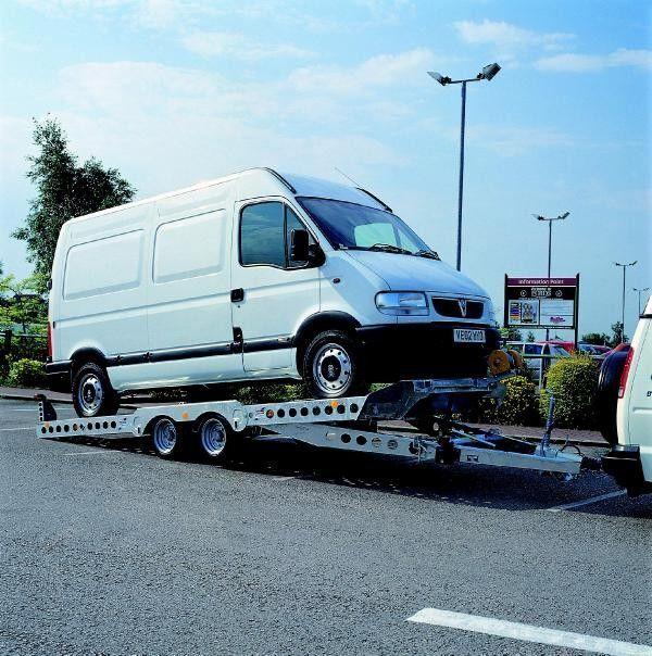 IFOR Williams CT177 car transporter trailer