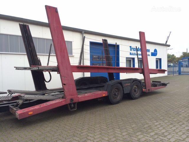 LOHR TA 10/4 car transporter trailer