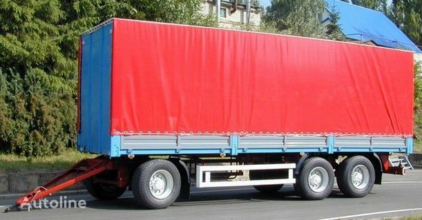 new KAMAZ SZAP-83053 flatbed trailer