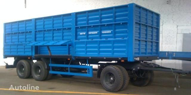 new KAMAZ SZAP-83053/030 flatbed trailer