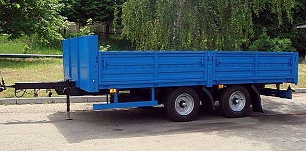 new KAMAZ SZAP-830622 flatbed trailer