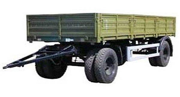 new KAMAZ SZAP-8355 flatbed trailer