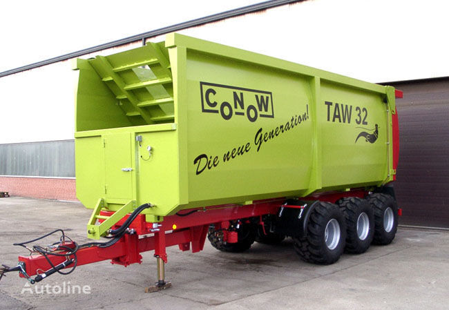 new CONOW TAW 32 grain truck trailer