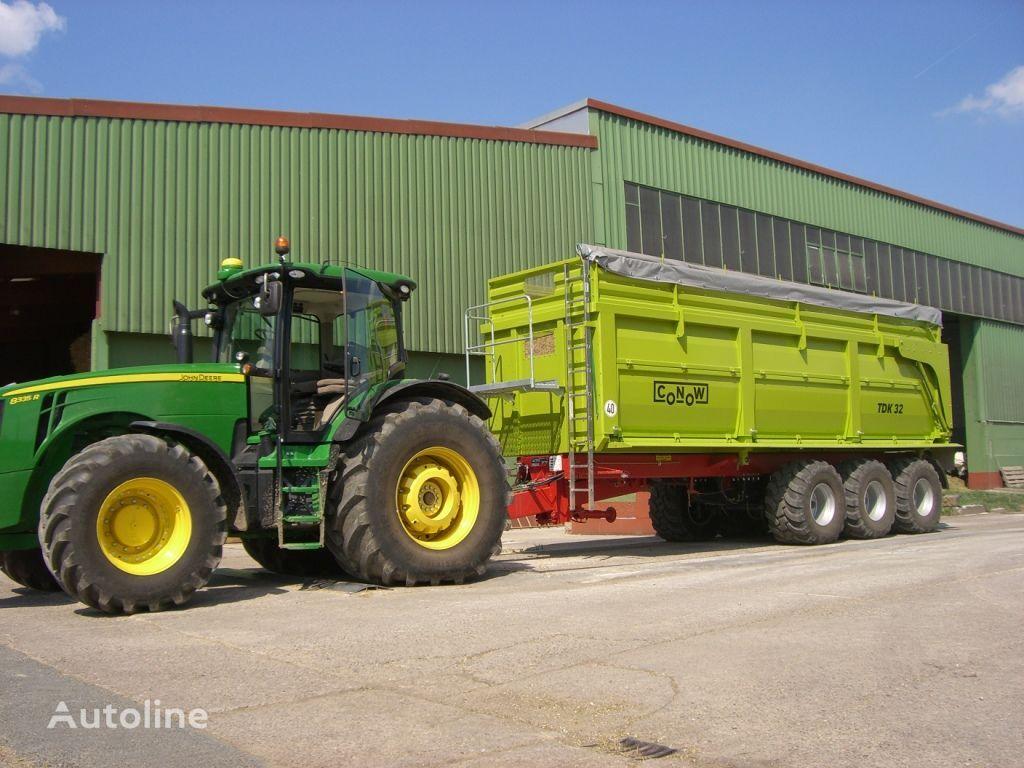 new CONOW TDK 32 grain truck trailer