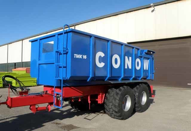 new CONOW Tandem-Dreiseitenkipper (TMK 16) grain truck trailer
