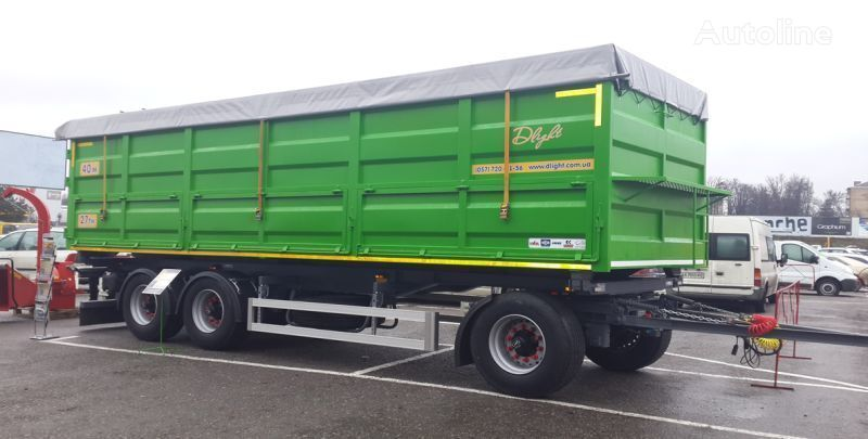 DLight grain truck trailer