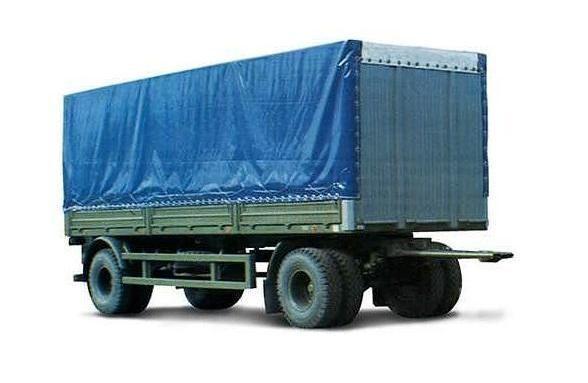 new MAZ 837810-014 tilt trailer