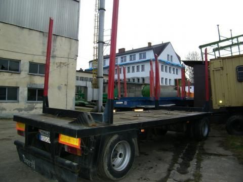 TRAILOR R 202 EN 3 L timber trailer