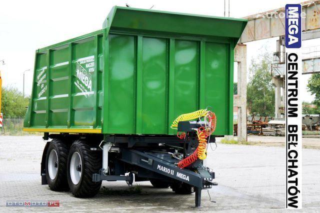 new 15 m³ WYWROTKA ROLNA + WÓZEK DOLLY 2 OSIOWY tipper trailer