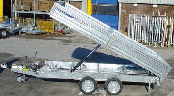 INDESPENSION TIP35126E tipper trailer