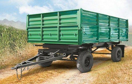 new KAMAZ SZAP-8582 tipper trailer