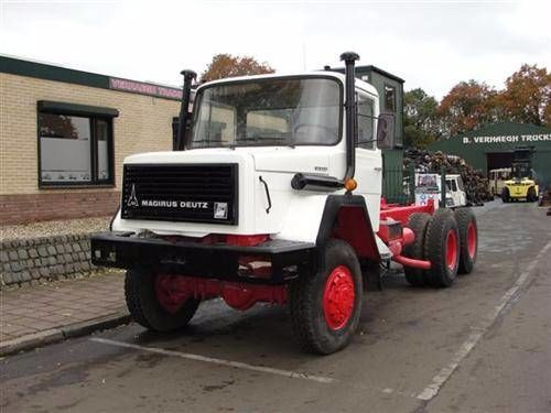 IVECO 256M26 AK chassis truck