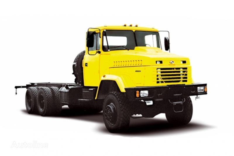 KRAZ 63221 tip 2 chassis truck