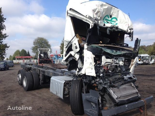 damaged MERCEDES-BENZ Actros 2642  chassis truck for parts