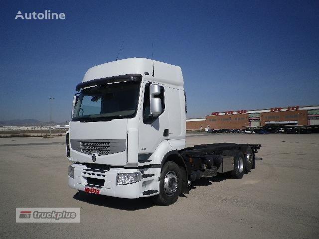 RENAULT PREMIUM 450 chassis truck