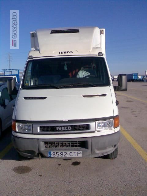 IVECO DAILY 35C13 closed box truck