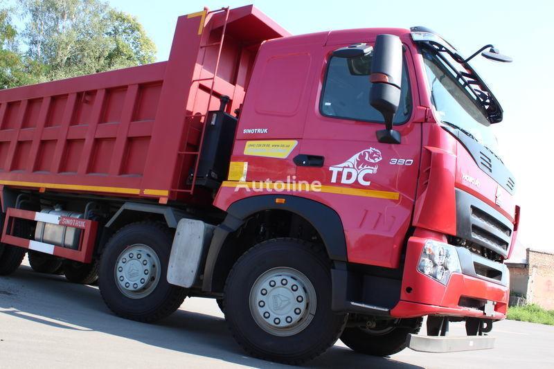 new HOWO A7 dump truck
