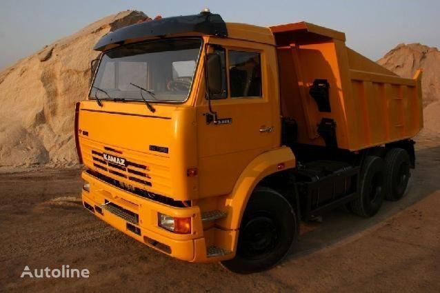 new KAMAZ 65115 dump truck
