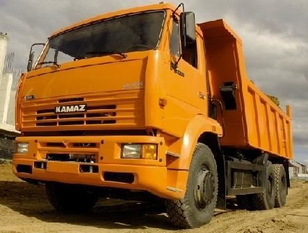 new KAMAZ 6520 dump truck