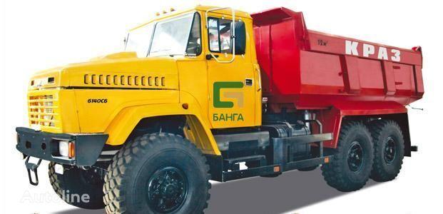 new KRAZ 6140C6 dump truck