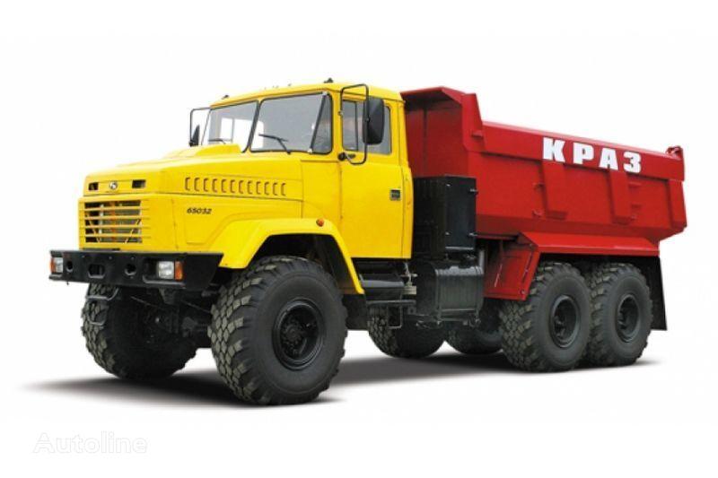 KRAZ 65032 tip 3  dump truck