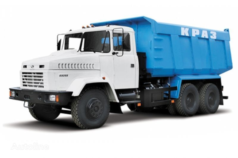 KRAZ 65055 tip 3  dump truck