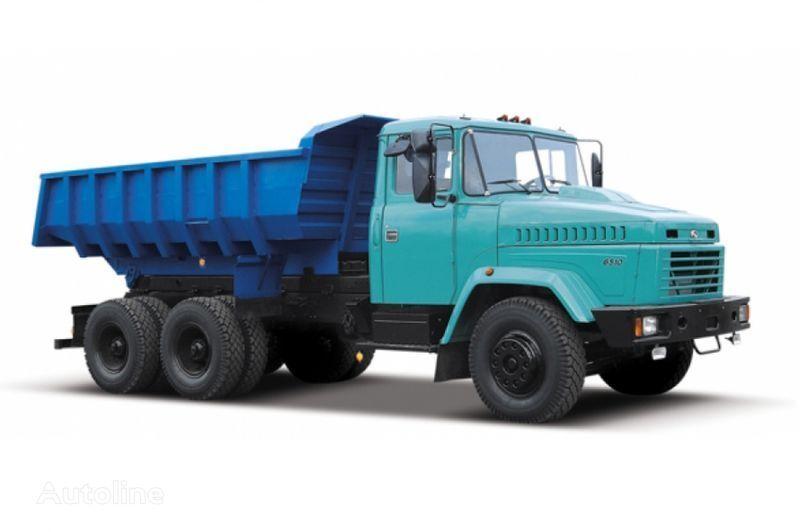 KRAZ 6510 tip 2 dump truck