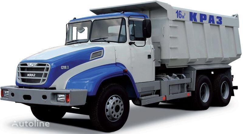 new KRAZ S18.1 dump truck