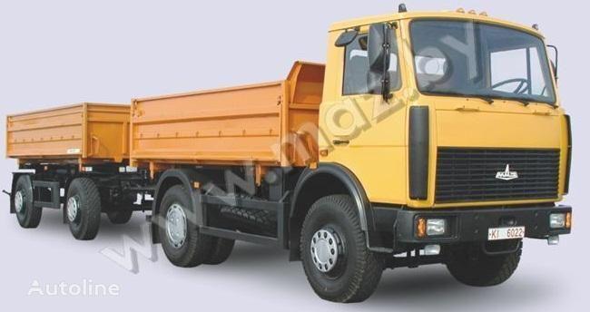 new MAZ 5551 dump truck